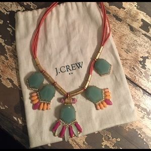 J Crew bib necklace