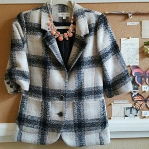 Anthropologie Jackets & Blazers - Anthropologie Plaid Blazer