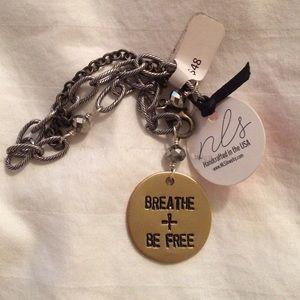 Breathe + Be Free Yoga Bracelet - Core Power