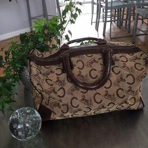 Celine Handbags - Vintage Celine Small Duffle70's-80's/France