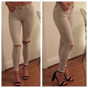 Denim - Joe's Jeans 'Finn' Distressed Ankle Skinny Jeans