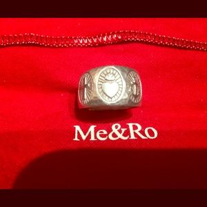Me & Ro Jewelry - ME & RO CHARITY HOPE FAITH RING STERLING 7.5