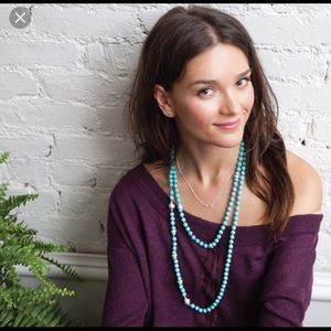 Chloe + Isabel Jewelry - Chloe + Isabel Turquoise Convertible Necklace!