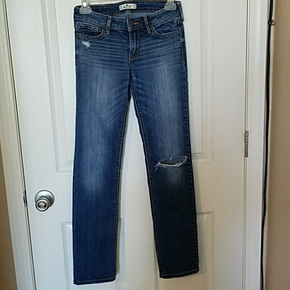 75% off Hollister Denim - Hollister straight leg jeans ...