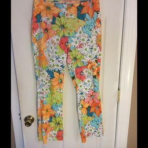 Summer Item🌴🌴Tropical Style Pants! Sz 10🌴