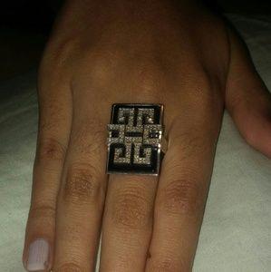Kay Jewelers Jewelry - Diamond and onyx ring