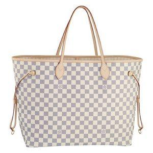 Louis Vuitton Handbags - Gm azur damier