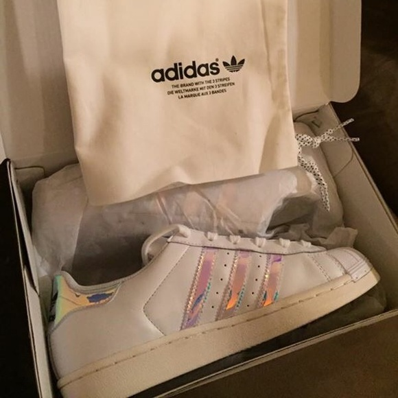 Nwt Adidas Adidas Superstar Superstar Holographic 0wOXN8Pkn