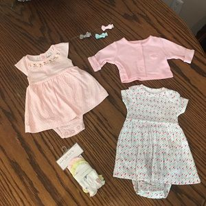 Carter's Other - Dresses Lot 4 Piece