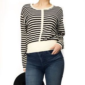 Sonia Rykiel Sweaters - Sonia rykiel wool striped sweatshirt