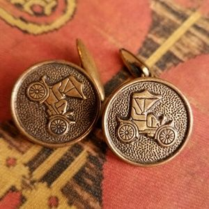 Vintage Other - Vintage Car cuff links Ford Model A T steampunk
