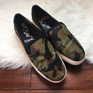 Sam Edelman Shoes - Sam Edelman Becker Calf Hair Slip On Sneakers