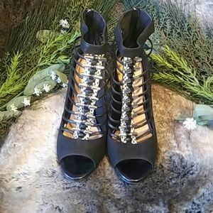 Lamb Shoes - Lamb strappy heels