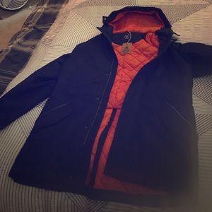 BLK DNM Other - Men's size L DNM collection navy blue coat