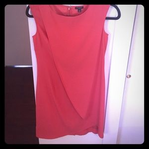 Ann Taylor Dresses & Skirts - Coral/Orange Ann Taylor Layered Shell Dress (0P)