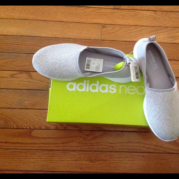 buy popular 14adb f28d6 Adidas NEO Women s Lite Racer Slip On Sneakers