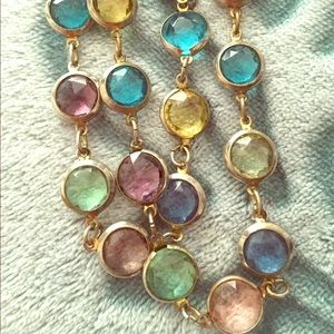 Multi-Colored Stones Necklace