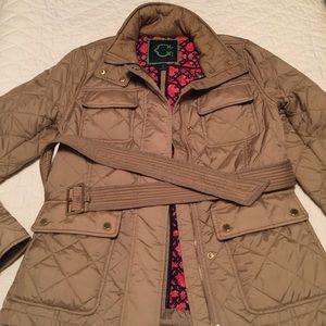 C. Wonder Jackets & Blazers - Beige C. Wonder belted, quilted jacket