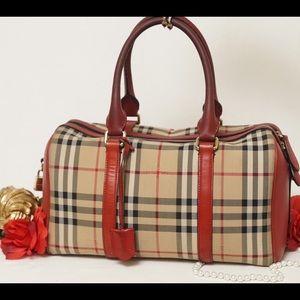 Burberry Handbags - 🎯1 HR SALE‼️AUTH BURBERRY Horseferry Handbag
