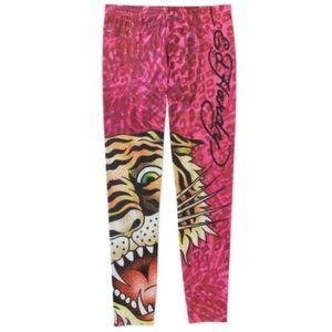 Ed Hardy Pants - Ed Hardy Tiger Leggings