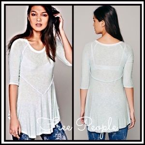 SALEFREE PEOPLE Layering Tee Tunic