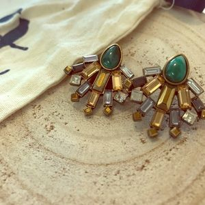 Chloe + Isabel Jewelry - Chloe & Isabel Scarab Collection Studs New