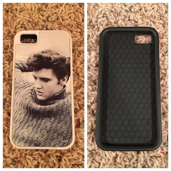 reputable site ca99c 152a3 Elvis Presley iPhone5S Cell Phone Case