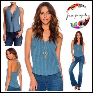 ❗️1-HOUR SALE❗️FREE PEOPLE Tank Top Ribbed Tee