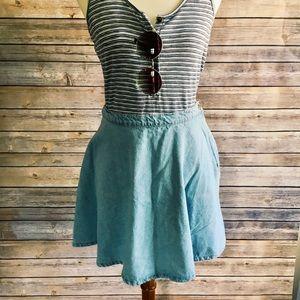 NWT American Apparel Denim Skirt