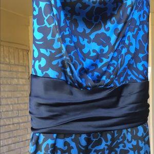 Onyx Dresses & Skirts - Dress, size 14W Back and Blue NWT