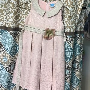 Other - Formal brocade dress little girl size 6