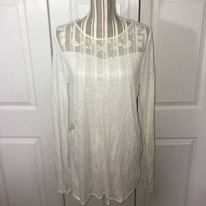 Lauren Conrad Lace Detail Top