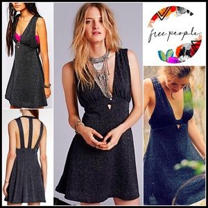 Free People Dresses & Skirts - ❗️1-HOUR SALE❗️FREE PEOPLE Dress Strappy Back