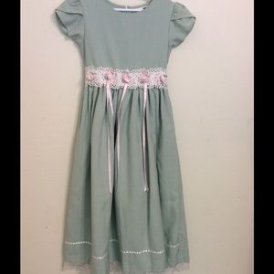 Rare Editions Other - Girl's soft mint dress.  EUC