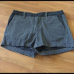 NWOT Adorable Black and White Shorts