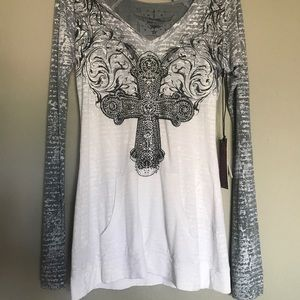 Rock & Roll Cowgirl Tops - NWT Rock & Roll Cowgirl hoodie!