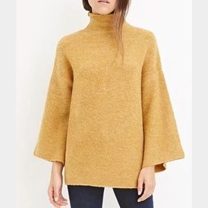 Mustard turtleneck