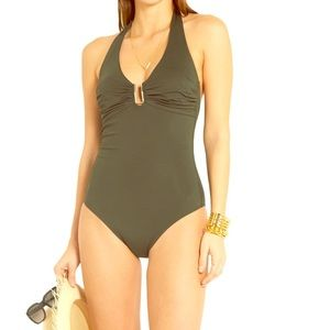 Melissa Odabash Other - Melissa Odabash green one piece bathing suit