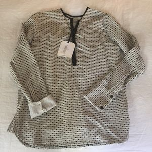 Ace & Jig Tops - Smock Natural Mini Dot Top perfect condition