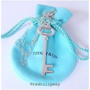"Auth. Tiffany & Co. XL 2.5"" Vintage Oval Key"