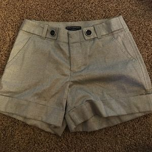 Banana Republic Pants - Banana Republic Gold Cuff Martin Fit Shorts Sz 4