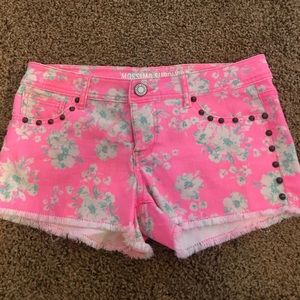 Mossimo Supply Co Pants - Mossimo Hot Pink Cutoff Shorts Size 7 Never Worn