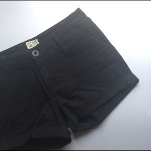 RVCA Pants - RVCA Black Cotton Cuffed Shorts • Summer Staple!