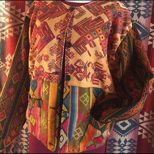 Vibrant Guatemalan Embroidered Jacket!