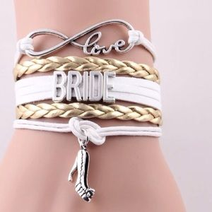 Jewelry - Great Bridal Party Gifts...Infinity Love Bracelet