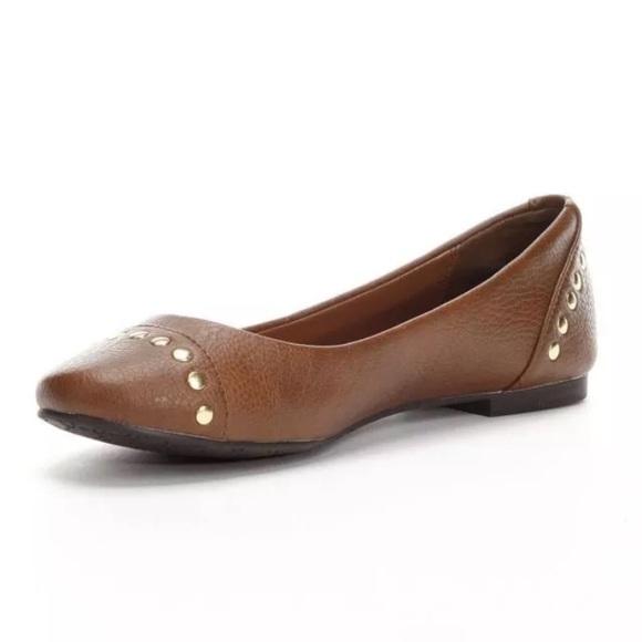 21d8ff37e239 candies Shoes | Jinny Cognac Ballet Flats | Poshmark