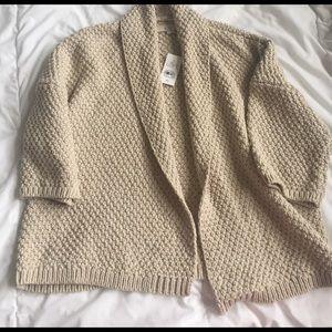 NWT LOFT short sleeved cardigan size XS
