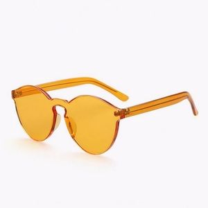Urban Outfitters Accessories - Orange Transparent Glasses