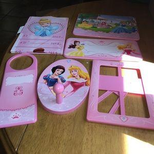 Disney princess decor