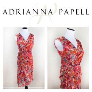 Adrianna Papell Dresses & Skirts - 🔥LAST💸CALL🔥ADRIANNA PAPELL SHEATH WRAP DRESS